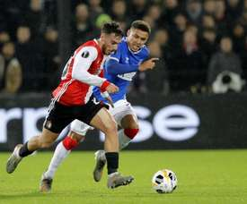 Kokcu is wanted by Arsenal to replace Ceballos. Twitter/Feyenoord