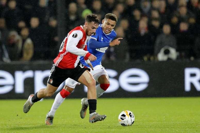 Kökcü, objetivo del Arsenal. Twitter/Feyenoord
