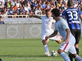 A Roma bateu a Atalanta por 0-1. Twitter/Roma