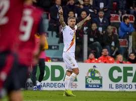 La Roma gana en Cagliari. Tweet/AS Roma