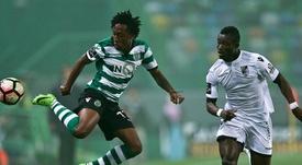 Internacional português tem contrato até 2022 com o Sporting CP. Twitter