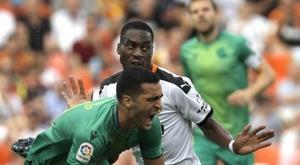 Kondogbia regrette de ne pas avoir tué le match. EFE