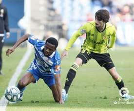 El Zaragoza venció en Riazor 1-3. LaLiga