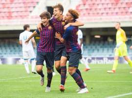 Ligue 1 keeping an eye on Barca youngster Konrad de la Fuente. EFE