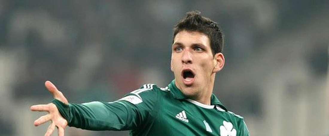 Konstantinos Triantafyllopoulos, nuevo jugador del Asteras Tripolis. Twitter