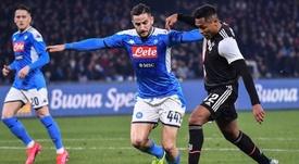 Le probabili formazioni di Juventus-Napoli. AFP