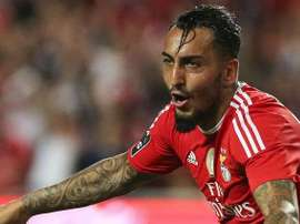 Kostas Mitroglou is currently on loan at Benfica. SLBenfica