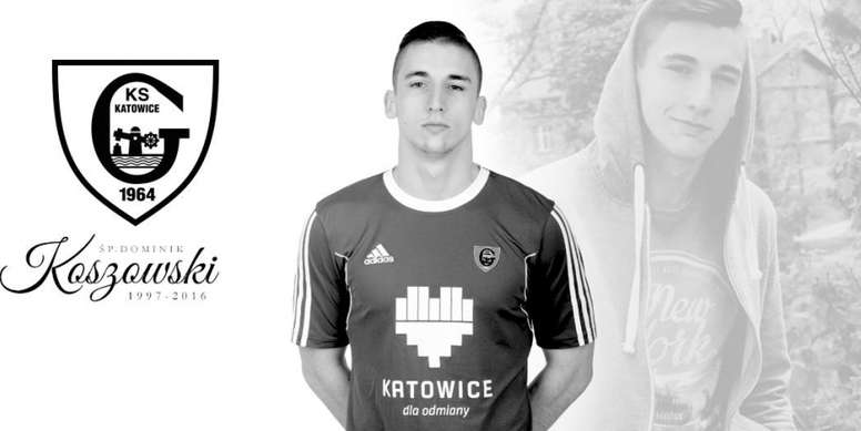 El Katowice dice adiós a un joven futbolista. GKSKatowice
