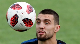 Kovacic wants to stay at Chelsea. EFE/Archivo