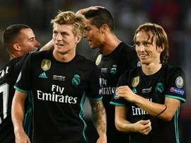 Kroos e Modric, jogadores do Real Madrid. EFE