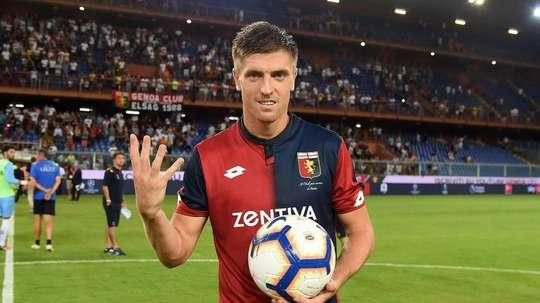 Piatek agrada ao Real. Twitter @calcio_square
