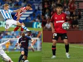Le onze parfait des joueurs prêtés par le Real Madrid. EFE/BeSoccer