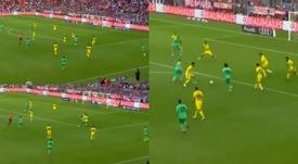 Kubo reforzó su enorme capacidad técnica ante el Fenerbahçe. Captura/RealMadridTV