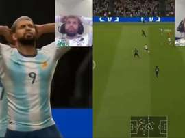Quand Agüero s'énerve... sur FIFA. Captures/Twicht/SLAKUN10