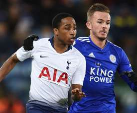 Walker-Peters' loan spell at Southampton has been interrupted by COVID-19. AFP
