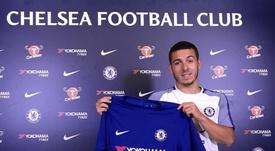 Kylian Hazard, o novo jogador do Chelsea. ChelseaFC