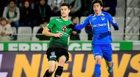 Kylian Hazard juega en el Círculo de Brujas. CercleBrugge