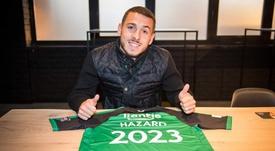 El pequeño de los Hazard saldrá de Bélgica. CercleBrugge