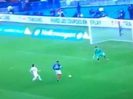 Mbappé desaprovechó una oportunidad inmejorable. Captura