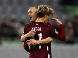 Interview with Iniesta's new partner. VisselKobe