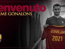 Aos 28 anos, Gonalons despede-se de Lyon e muda-se para a capital italiana. ASRoma