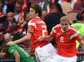 Mario Fernandes ha sido una de las sorpresas del Mundial. AFP