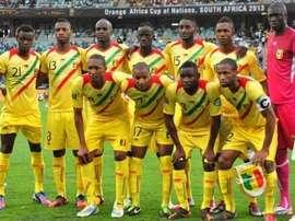 L'équipe nationale du Mali dans un match de qualification de la CAN. AFP