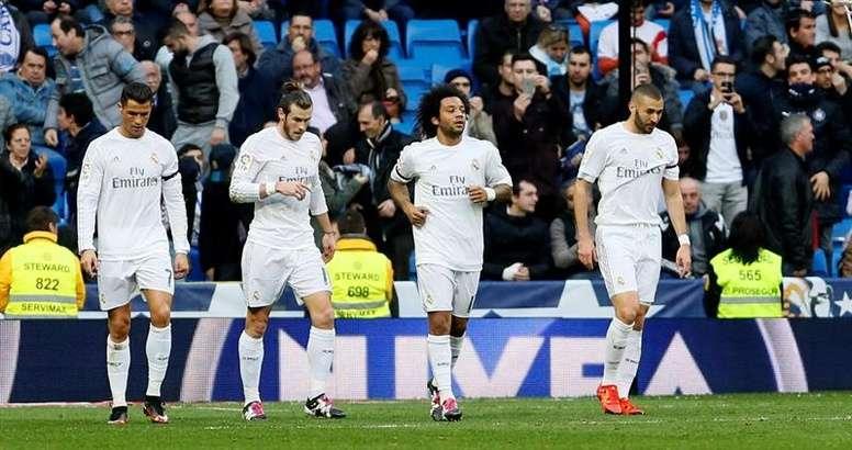 Nenhum jogador do atual plantel madrileno sabe o que é marcar ao Arsenal em jogos da Champions. EFE