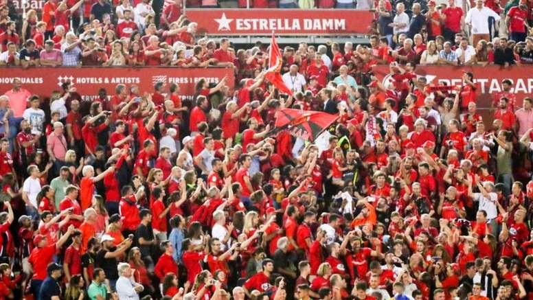El Mallorca será solidario a través de Son Moix. Twitter/RCD_Mallorca