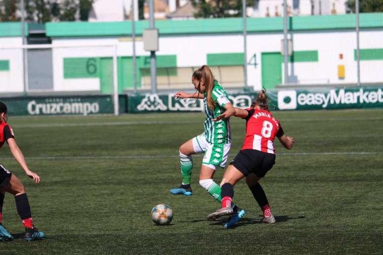 El Betis se queda sin su capitana y referente. Twitter/RealBetisFéminas
