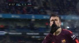 3 matches de suspension pour Piqué. DirectTV