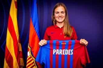 Irene Paredes signe au Barça. FCBarcelona