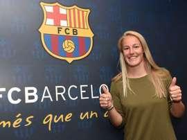 Stefanie van der Gragt ya ha firmado su contrato. FCBFemení