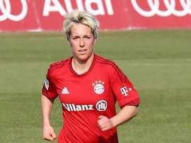 Claire Falknor ya ha firmado su nuevo contrato. EDFLogroño