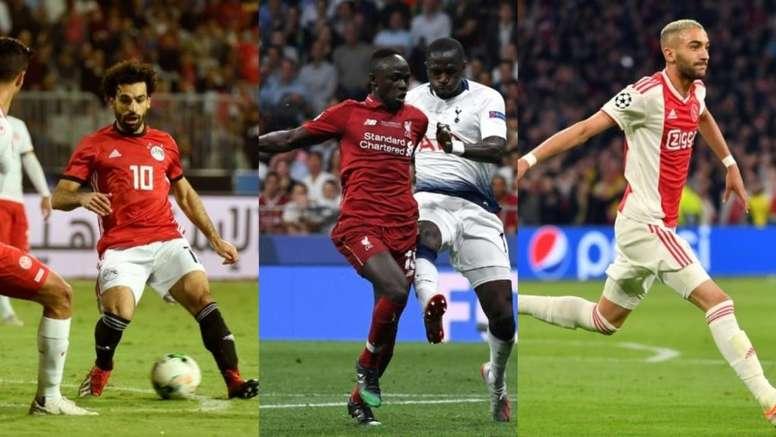 La Coupe d'Afrique regroupera de nombreuses stars du football mondial. EFE