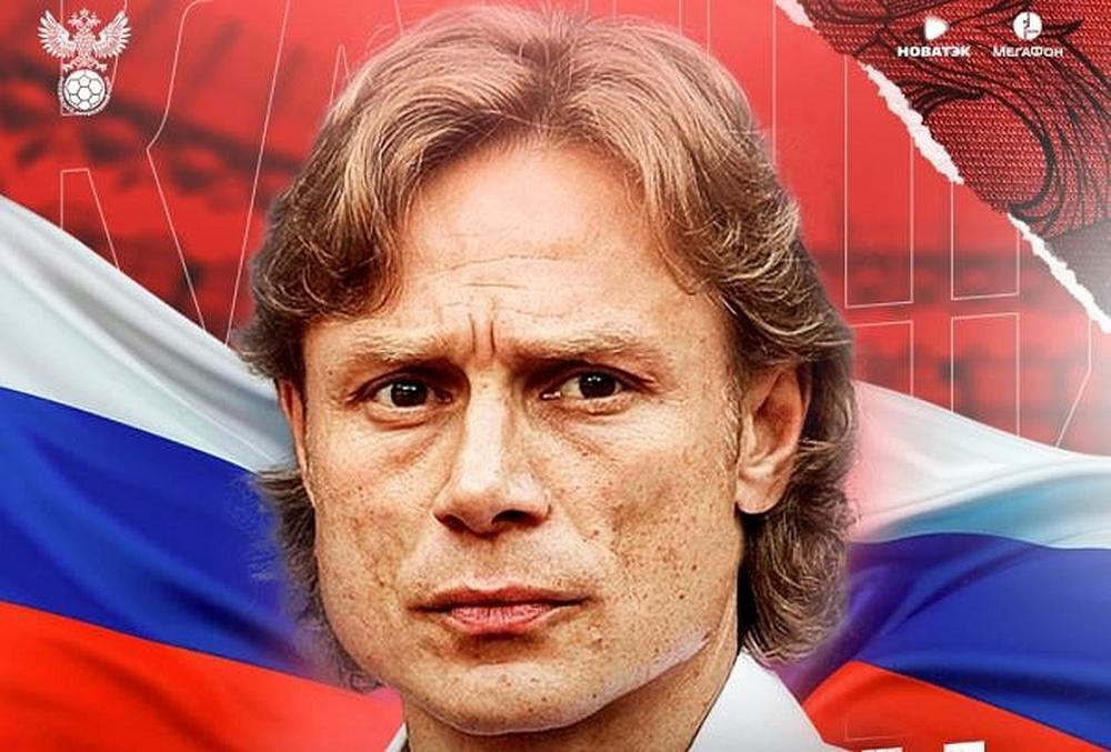 Karpin, nuevo técnico de Rusia: compaginará la Selección con el Rostov. Captura/TeamRussia