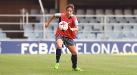 Marta Torrejón sueña con hacer algo grande con España. FCBarcelona