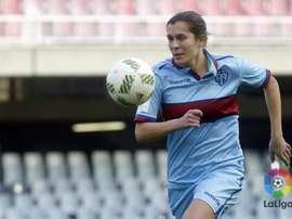 Raquel vistió en años anteriores la camiseta del Levante. LaLiga