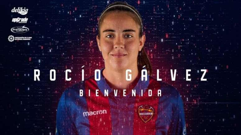 Rocío Gálvez cambia el Betis por el Levante. LevanteUD