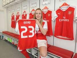 El Arsenal Ladies de Martínez Losa se refuerza con la inglesa Beth Mead. ArsenalLadies