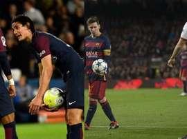 Jogaram mais tempo juntos, mas Messi chegou a 'ceder' vários pênaltis ao brasileiro. BeSoccer