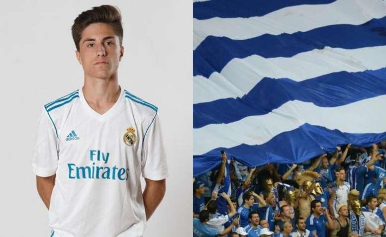 Christian Vassilakis podría obtener la doble nacionalidad. RealMadrid/AFP