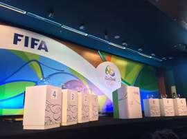 La FIFA ha dado a conocer los grupos de los Juegos Olímpicos de Río. FIFA