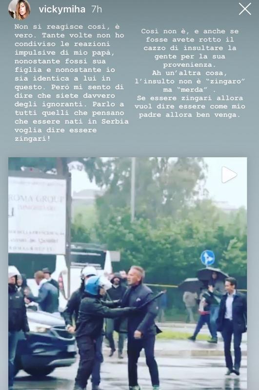 Viktorija Mihajlovic si sfoga sui social. Instagram/ViktorijaMihajlovic