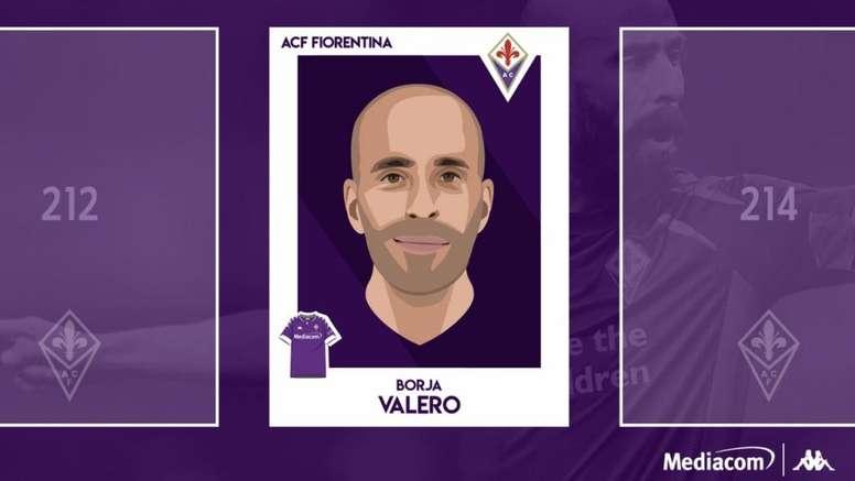 Borja Valero regresa a la Serie A. Twitter/acffiorentina