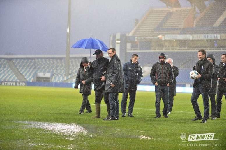 El encuentro aplazado entre el Bastia y el Nantes se jugará el 1 de marzo. FCNantes