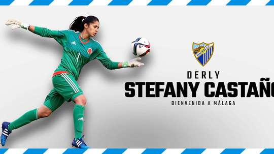 Stefany Castaño ya ha firmado su nuevo contrato. MálagaCFFemenino