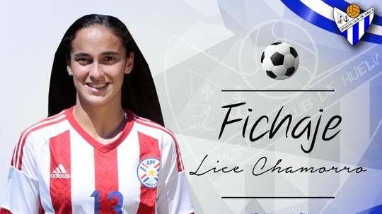Lice Chamorro, nueva jugadora del Sporting Club Huelva. SportingHuelva