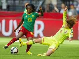 La internacional camerunesa Ngo Mbeleck ficha por el Sporting. SportingHuelva