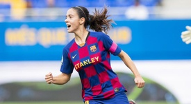 Aitana Bonmatí es una de las piezas destacadas del Barça. Twitter/FCBfemeni